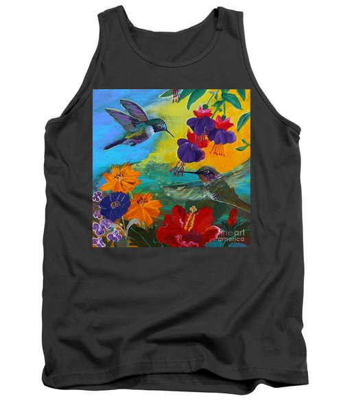 Hummingbirds Prayer Warriors Tank Top