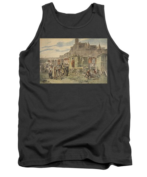 Hungarian Gypsies Outside Carcassonne Tank Top