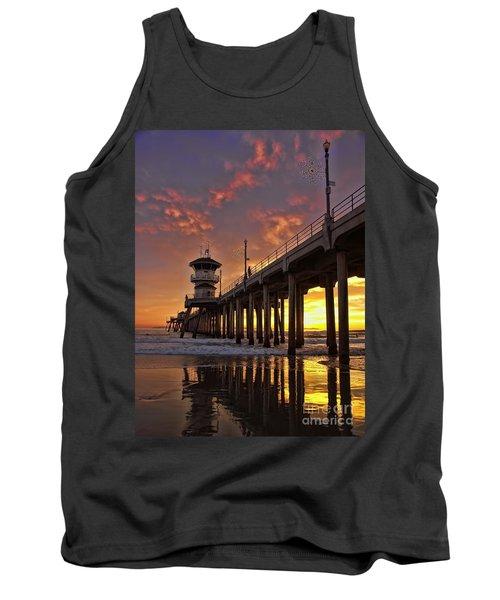 Huntington Beach Pier Tank Top