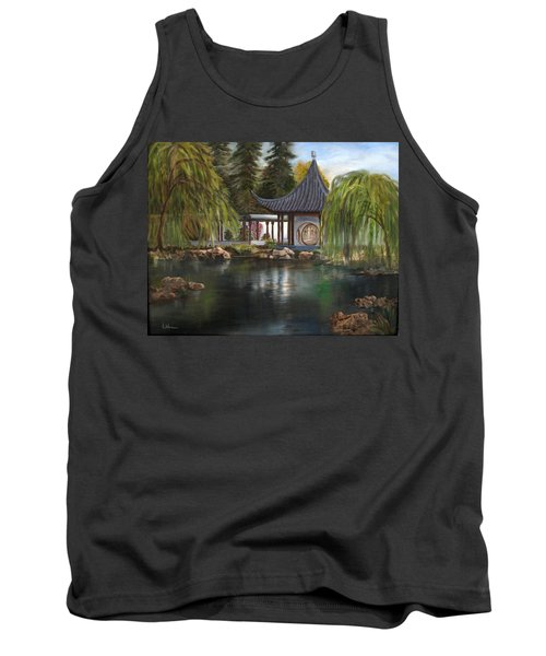 Huntington Chinese Gardens Tank Top by LaVonne Hand