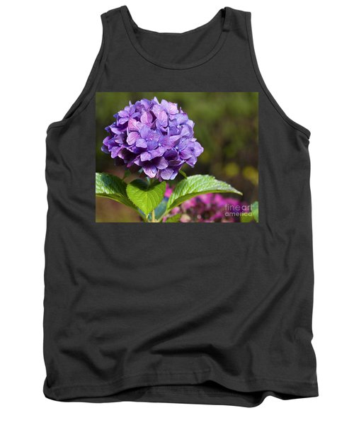 Tank Top featuring the photograph Hydrangea by Belinda Greb