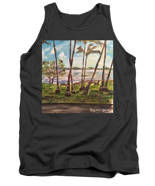 Tank Top featuring the painting I Am Always With You by Belinda Low