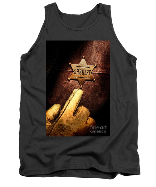 I Am The Law Tank Top