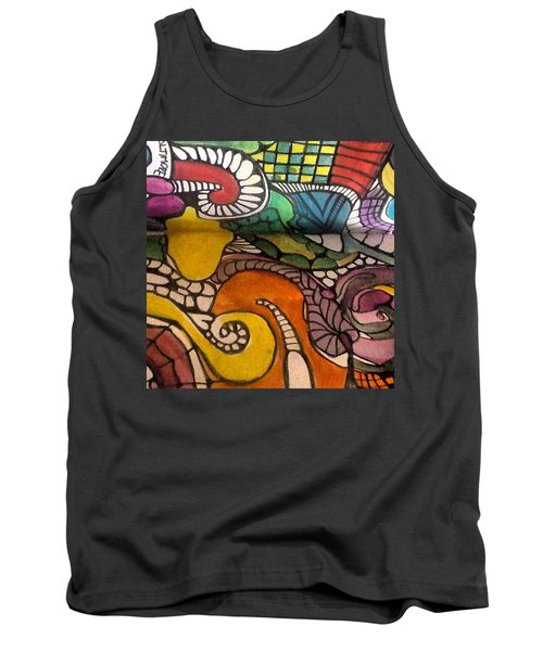 Life Is Better In Color Tank Top