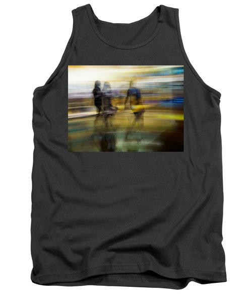 Tank Top featuring the photograph I Had A Dream That You And Your Friends Were There by Alex Lapidus