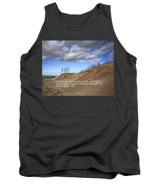 Tank Top featuring the photograph I Surrender To The Flow Of The Universe by Patrice Zinck