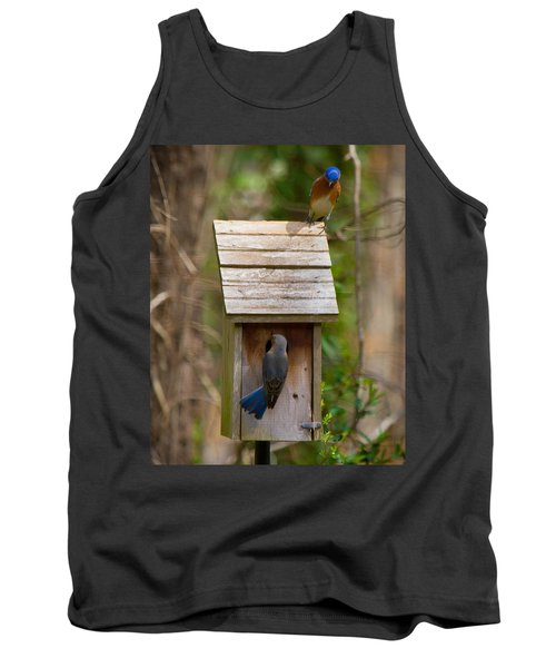 Tank Top featuring the photograph I Think I Like This One Honey. You Have To See The Inside by Robert L Jackson