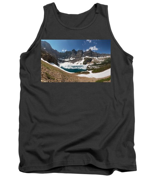 Tank Top featuring the photograph Iceberg Lake by Aaron Aldrich