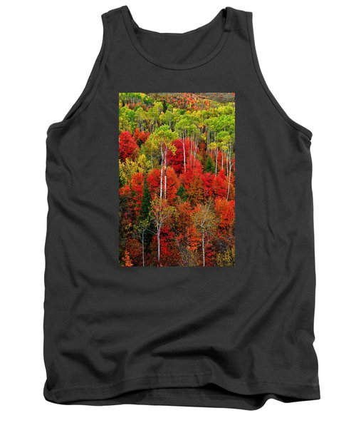 Tank Top featuring the photograph Idaho Autumn by Greg Norrell