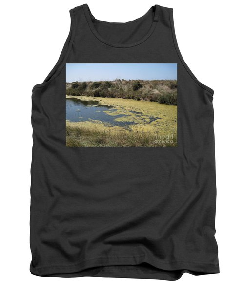 Tank Top featuring the photograph Ile De Re - Marshes by HEVi FineArt