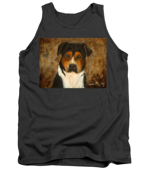 Tank Top featuring the painting I'll Wait For You by Barbie Batson