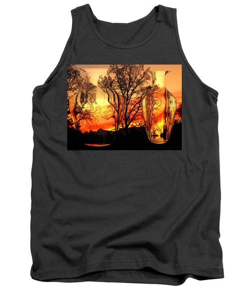 Tank Top featuring the photograph Illusion by Joyce Dickens