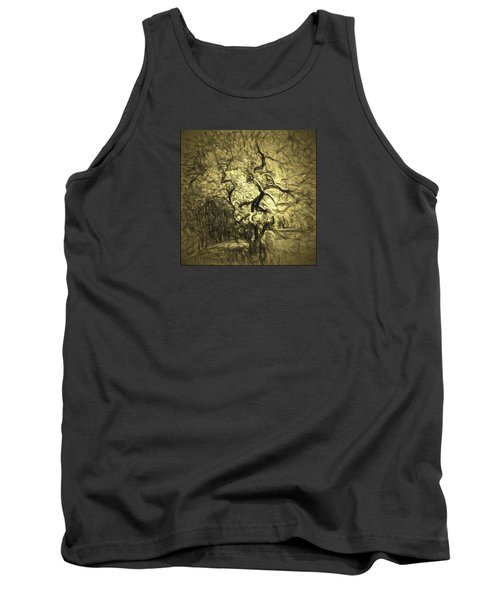 Illusion Tree Tank Top