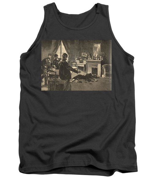 Illustration From Le Petit Journal Tank Top
