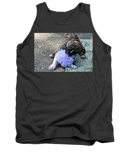 Imma Git U    Pit Bull Pup Tank Top
