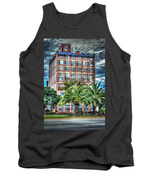 Imperial Sugar Factory Daytime Hdr Tank Top