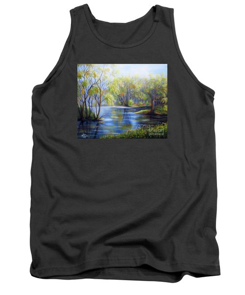 Impressions Of Spring Tank Top