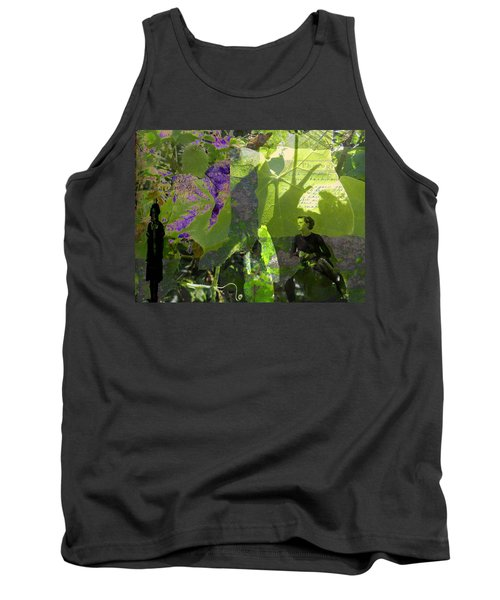 Tank Top featuring the digital art In A Dream by Cathy Anderson