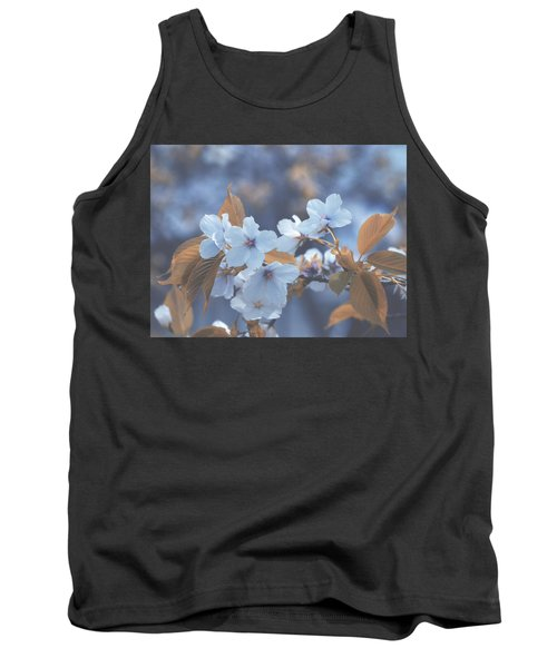 Tank Top featuring the photograph In Blue by Rachel Mirror