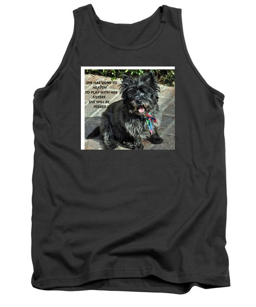 In Memory Of Her Tank Top by Jay Milo