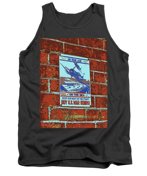 In The Air And On The Sea Poster Tank Top