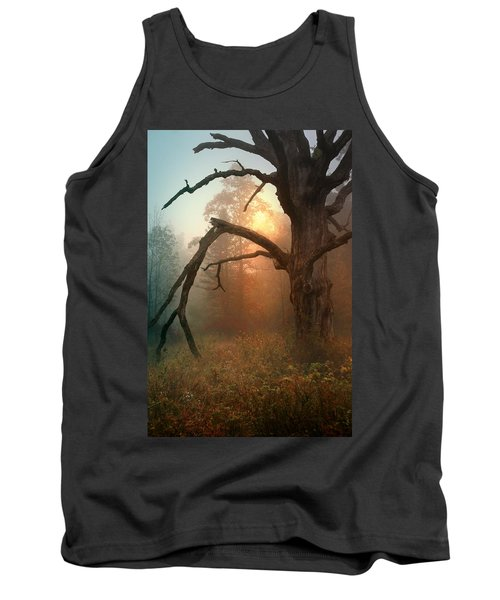 In The Stillness Tank Top by Rob Blair