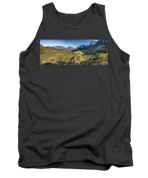 Index Mountains Panorama Tank Top