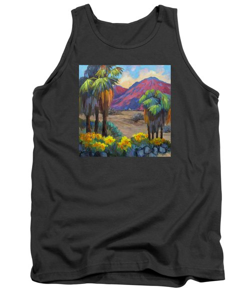 Indian Canyon In Spring Tank Top