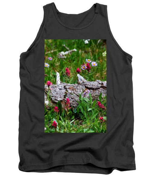 Tank Top featuring the photograph Indian Paintbrush by Ronda Kimbrow