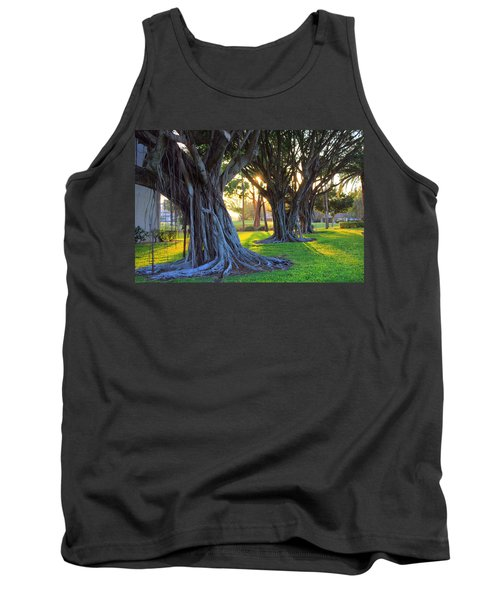 Indian Sunset Tank Top by Iryna Goodall
