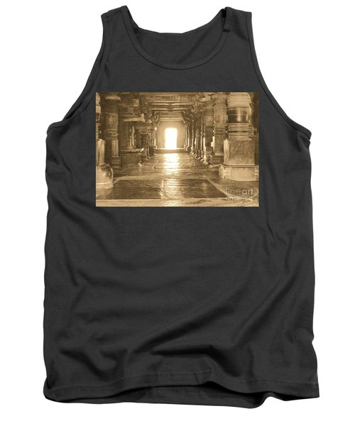 Tank Top featuring the photograph Indian Temple by Mini Arora