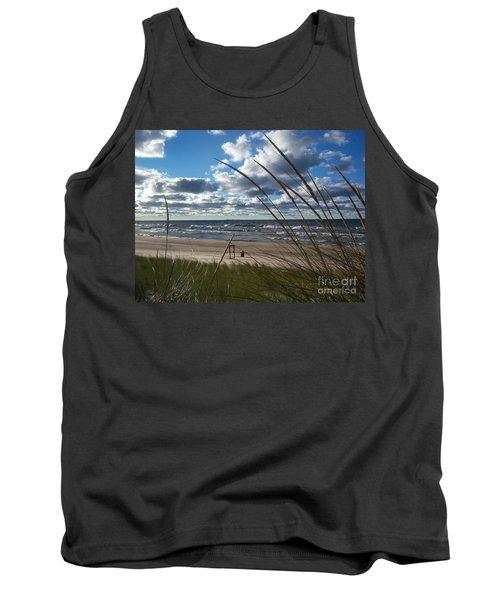 Indiana Dunes' Lake Michigan Tank Top
