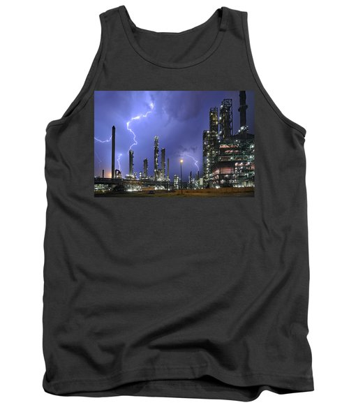 Tank Top featuring the photograph Lightning by Arterra Picture Library