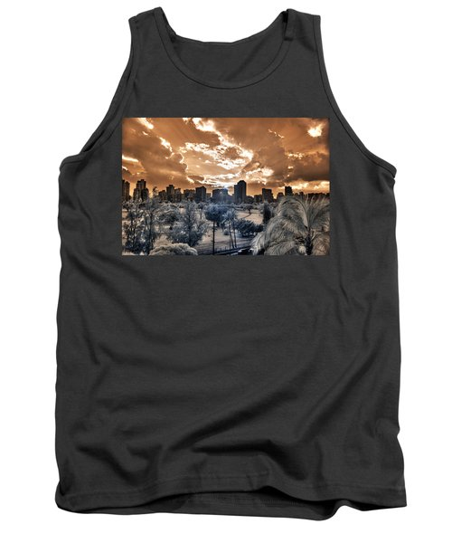 Infrared Sunset Tank Top