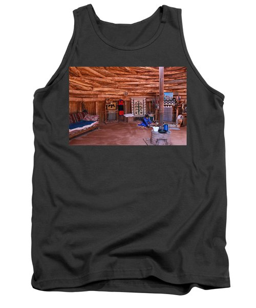 Inside A Navajo Home Tank Top