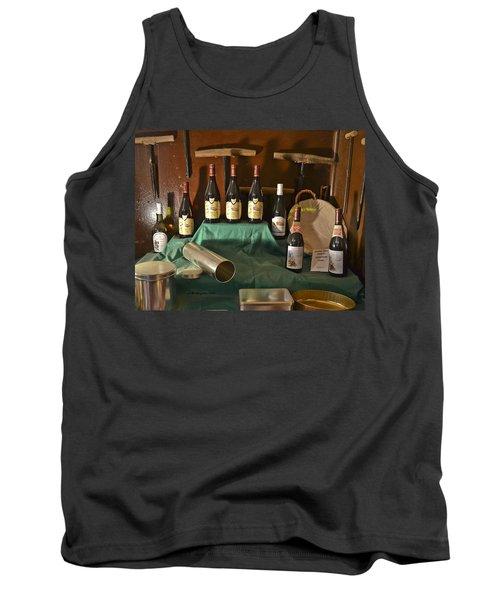 Inside The Wine Cellar Tank Top