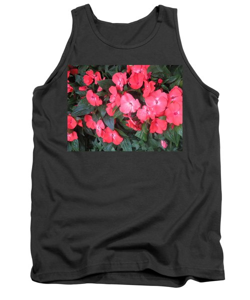 Tank Top featuring the photograph Interior Decorations Butterfly Garden Flowers Romantic At Las Vegas by Navin Joshi