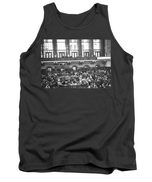 Interior Of Ny Stock Exchange Tank Top