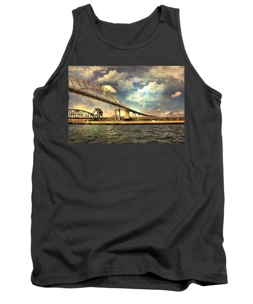 International Bridge Sault Ste Marie Tank Top