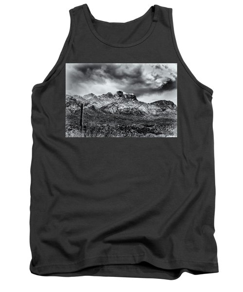 Tank Top featuring the photograph Into Clouds by Mark Myhaver