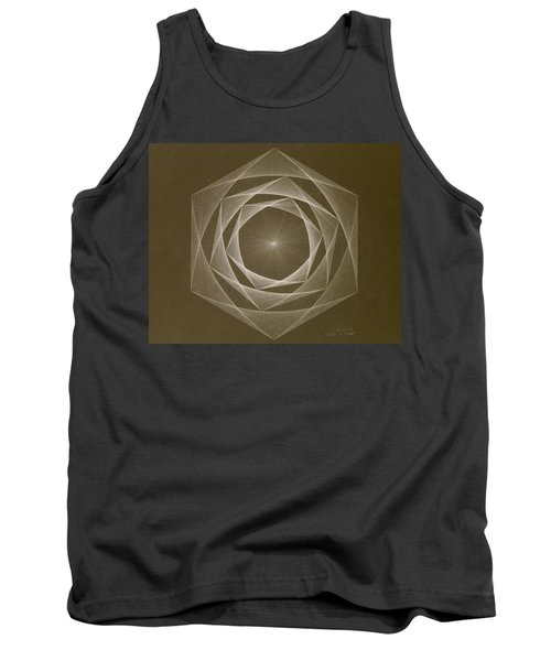 Inverted Energy Spiral Tank Top