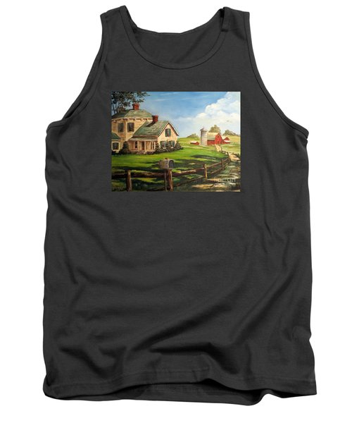 Cherokee Iowa Farm House Tank Top