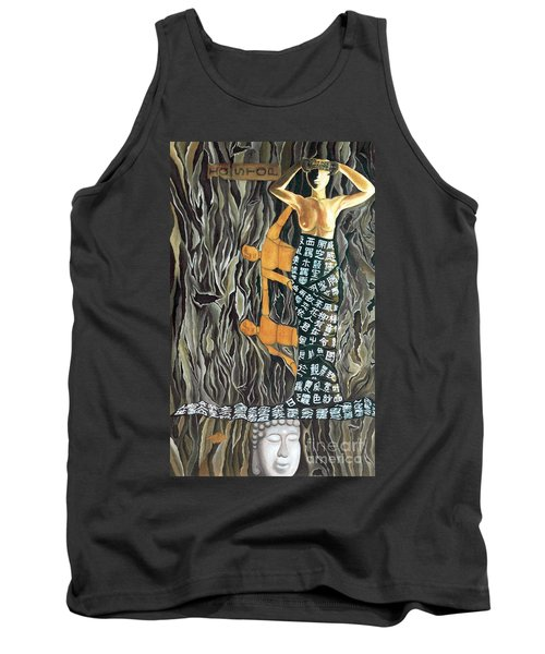 Tank Top featuring the painting I Q Stoped by Fei A