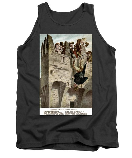 Tank Top featuring the painting Ireland The Blarney Stone by Granger