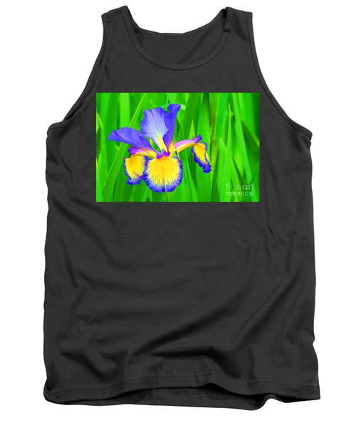 Iris Blossom Tank Top