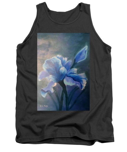 Iris Blue Tank Top by Kay Novy