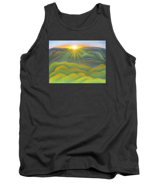 Isla Gorge Sunset Tank Top