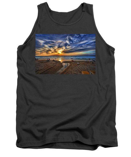 Tank Top featuring the photograph Israel Sweet Child In Time by Ron Shoshani