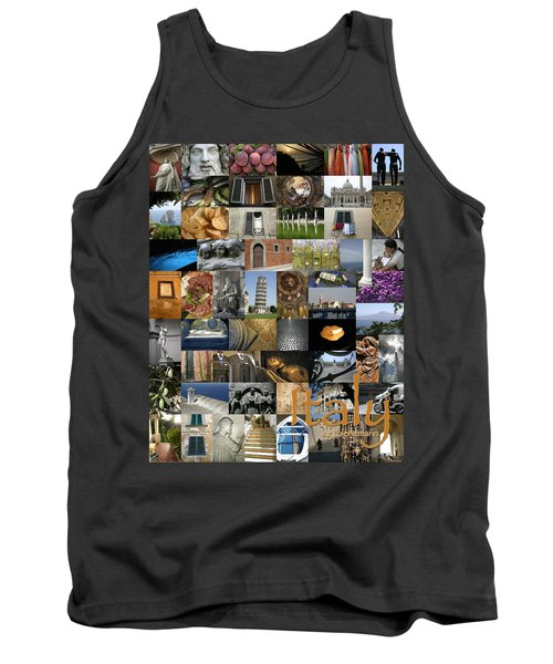 Italy Poster Tank Top