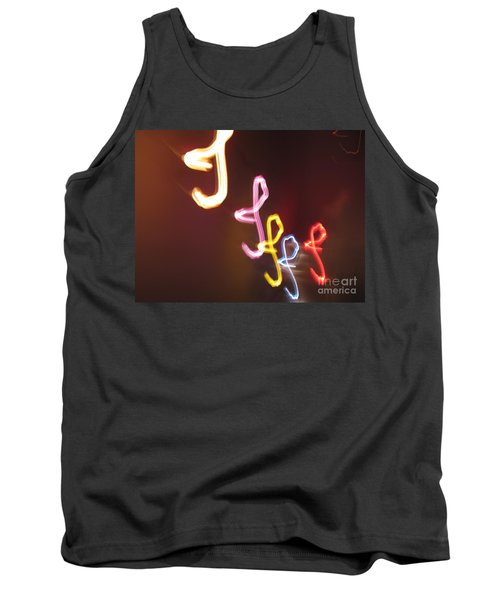 Tank Top featuring the photograph It's I... I... And More Of I. Dancing Lights Series by Ausra Huntington nee Paulauskaite